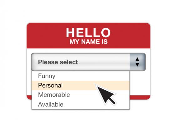 nome per attività online