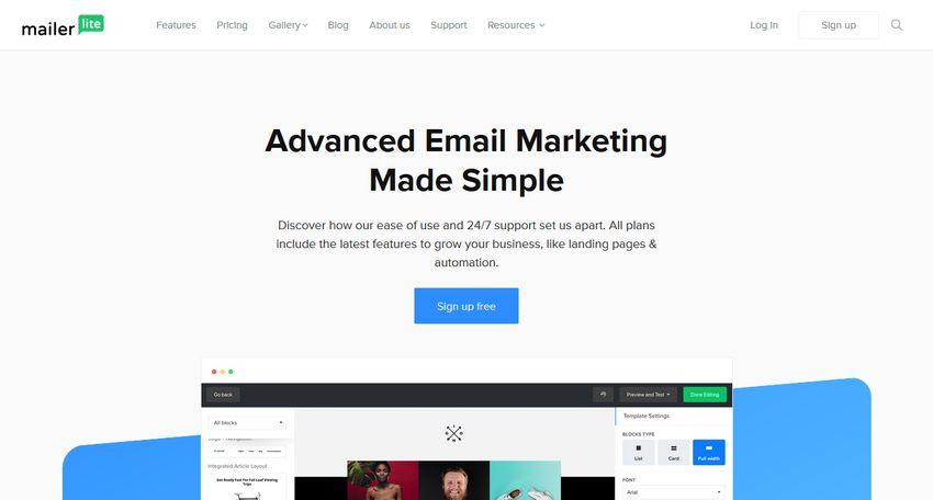 alternative a mailchimp mailerlite