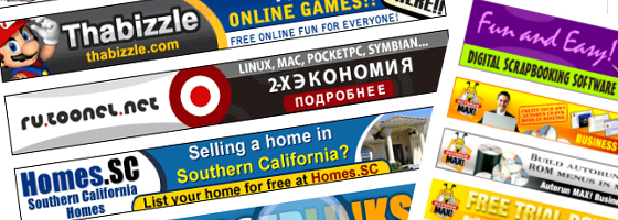 banner pubblicitari online