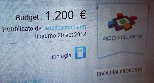 grafica per mobile app