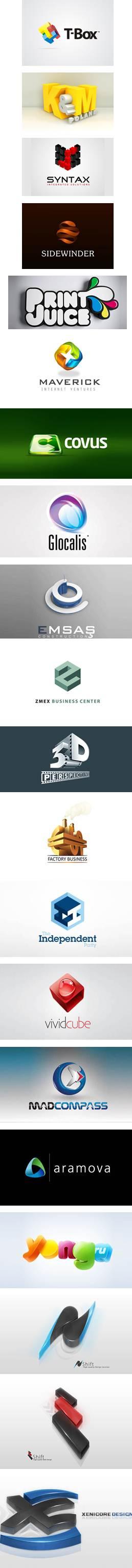 creare un logo 3D