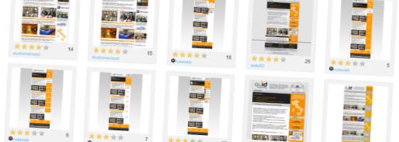 grafica newsletter