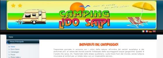 grafica sito web