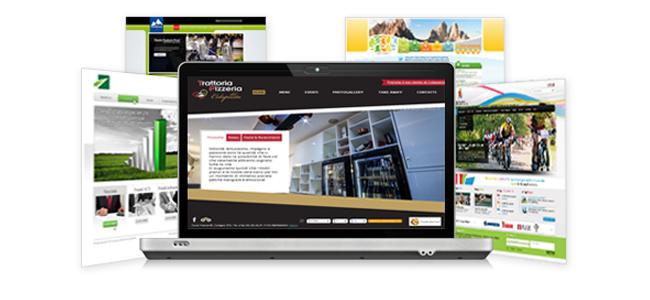 grafica web per sito internet