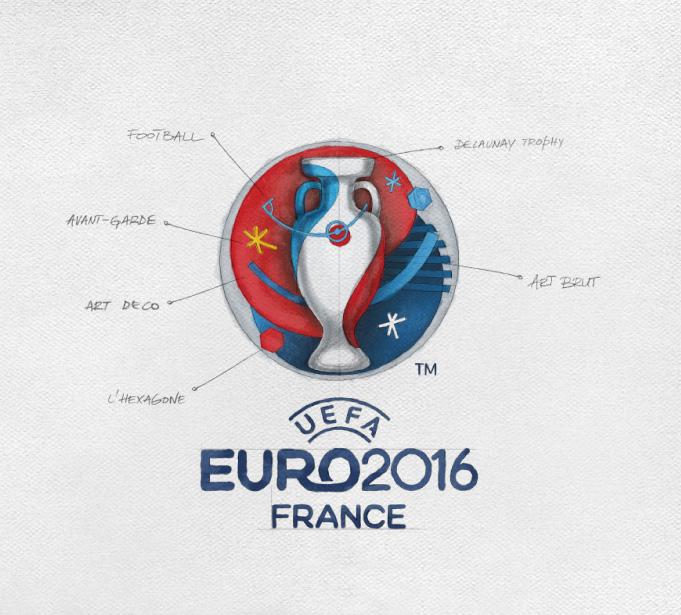 logo degli europei francia 2016