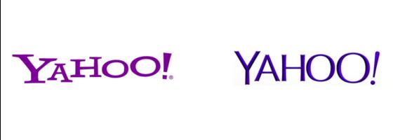 logo nuovo yahoo