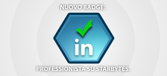 professionista online badge